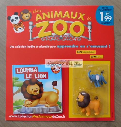 N° 1 Mes animaux du zoo - Lancement