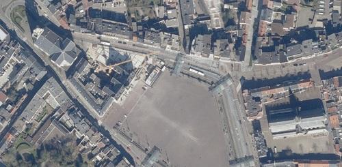 Saint-Nicolas - centre-ville en 2020 (geopunt.be)
