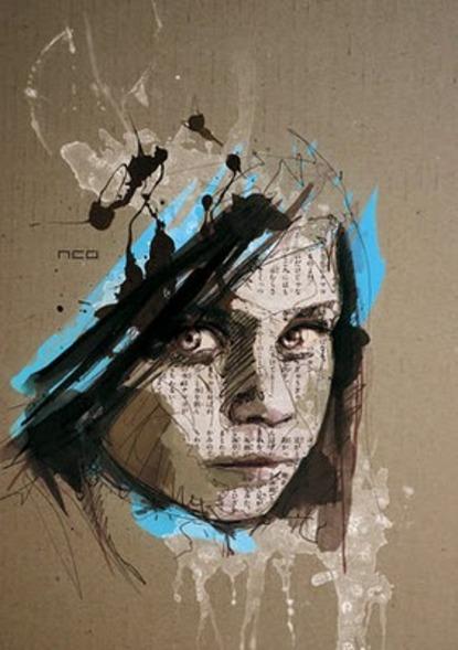 Dessin, collage & peinture
