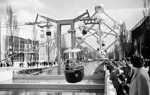 Bruxelles Bavard : Visites à la demande pour groupes: Sous la bonne étoile  de l'Expo, Bruxelles universelle étincelle au Heysel []