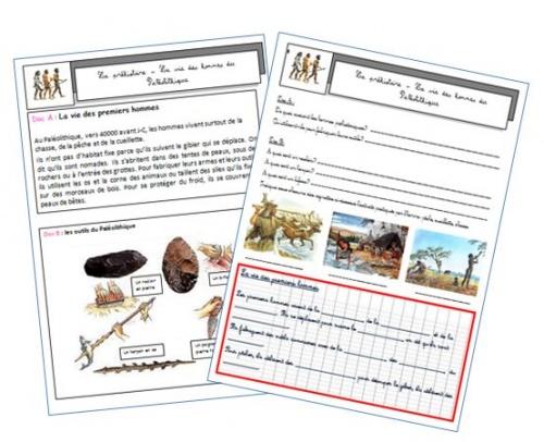 La prhistoire- l'homme au paléolithique