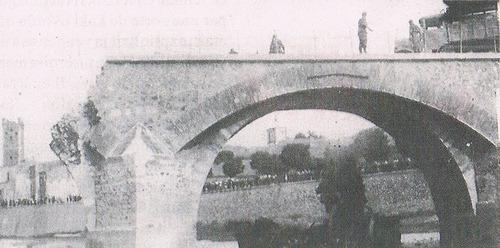 Les derniers instants d'un pont