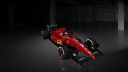 Team : Scuderia Ferrari - Ferrari 038 3.5 V12