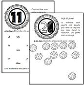 Les 100 jours de Chou, numération, cp, nombre, mathématiques, exercices