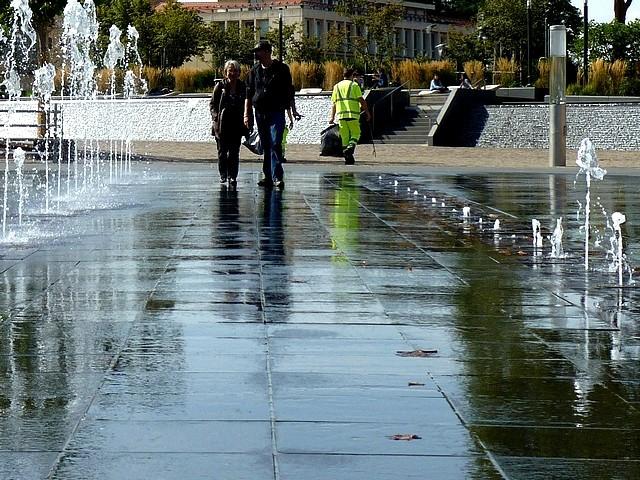 La fontaine de la République à Metz 7 Marc de Metz 20 09