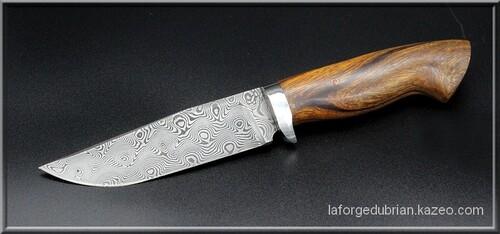 Les couteaux fixes disponibles