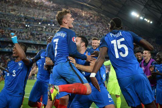 Auteur d'un doublé face à l'Allemagne, Antoine Griezmann qualifie les Bleus pour la finale de« leur» Euro, jeudi 7 juillet, à Marseille.