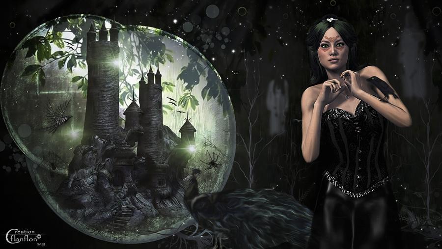 Au chateau de la Reine Noire
