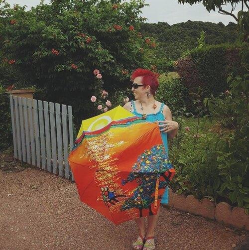 Parapluies à Charlieu