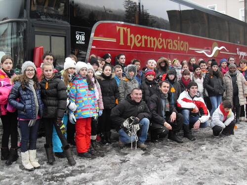 Journée à la neige des jeunes