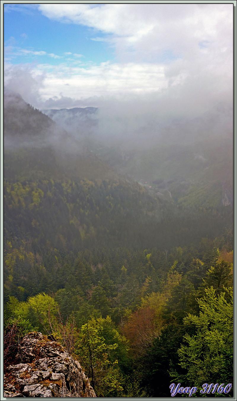 Point de vue à partir du belvédère de Valchevrière - Villard-de-Lans - 38