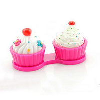 Etui pour lentilles Cupcake