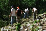 Prospection au château les 19 et 20 avril 2014