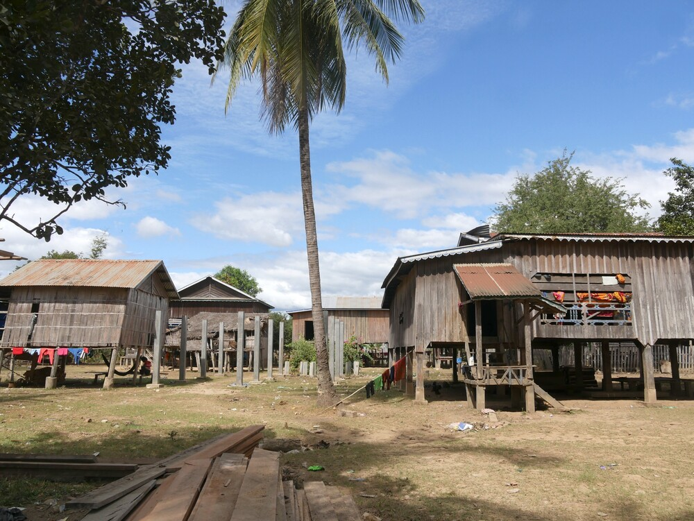 Village de Koh Piek - Cambodge