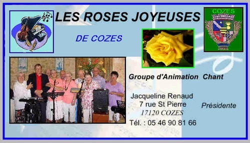 Les Roses joyeuses  a cozes  29/09/15