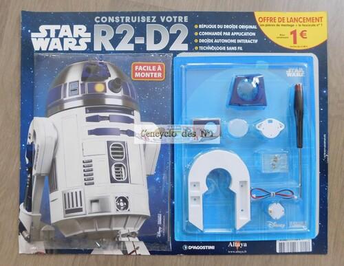 N° 1 Construire R2-D2 - Lancement