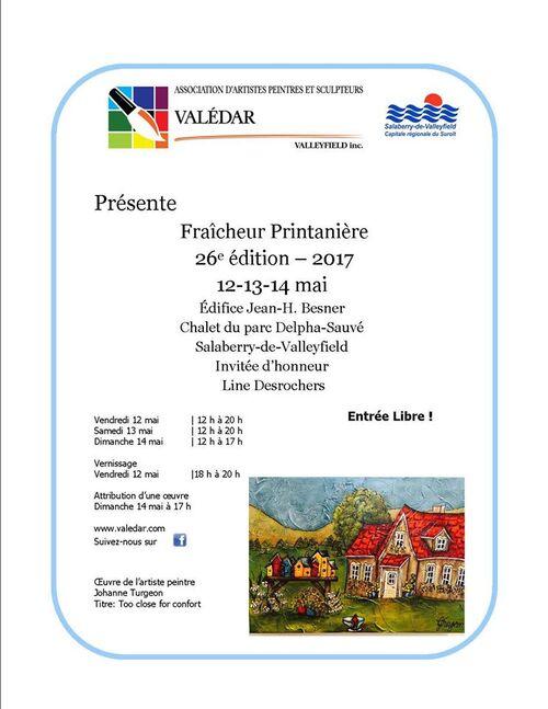 Exposition fraîcheur printanière