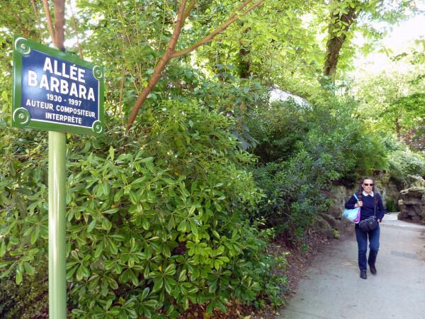 32 - Jardin des Batignoles - Allée Barbara