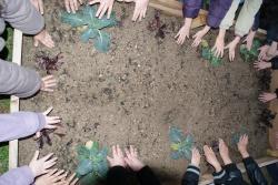 Les mains vertes des CE1P