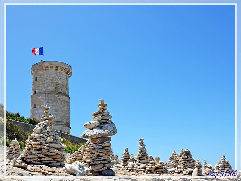 Vieille Tour des Baleines (Observatoire et ancienne plateforme du phare à feu) - Saint Clément-des-Baleines - Île de Ré - 17