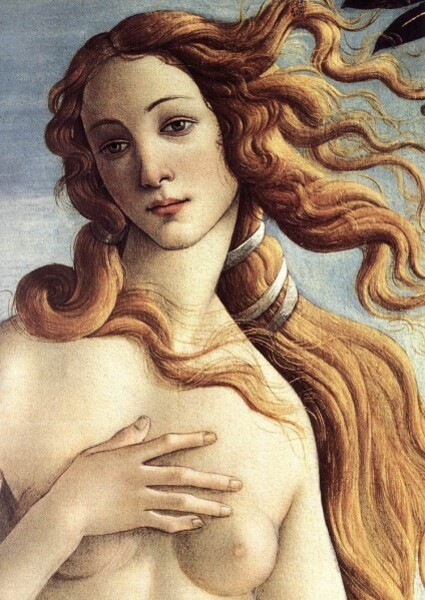 Sandro Botticelli - La naissance de Vénus (detail)