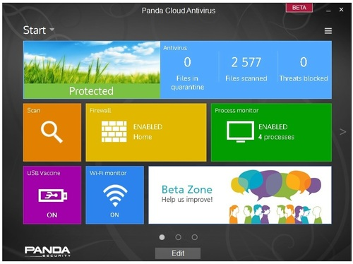 Panda Cloud Antivirus 2.9 Beta