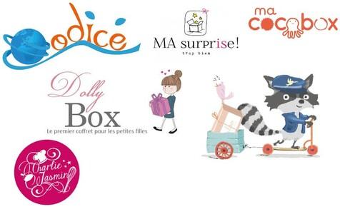 Une sélection de Box pour les enfants