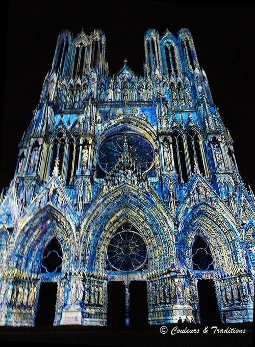 Son et Lumière sur la Cathédrale de Reims - 6