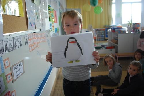 Le pingouin par Johann