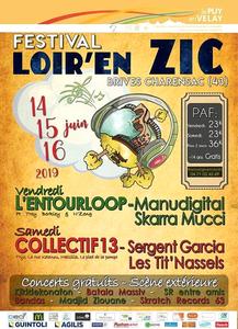 Festival Loir'en ZIC - Brives-Charensac (Haute-Loire)