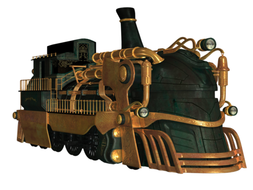 TUBES STEAMPUNK PNG