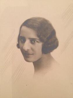 Emile Bercoff, sa fille Michèle, sa femme Renée et sa mère