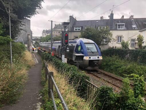 Quimper. Une femme grièvement blessée après avoir été percutée par un train (OF.fr-9/08/19-20h58)