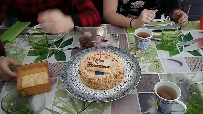 une belle journée d'anniversaire