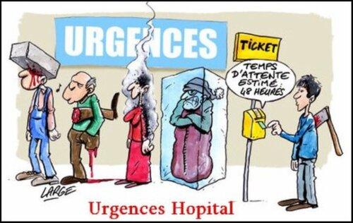 Une journée aux urgences à Mondor