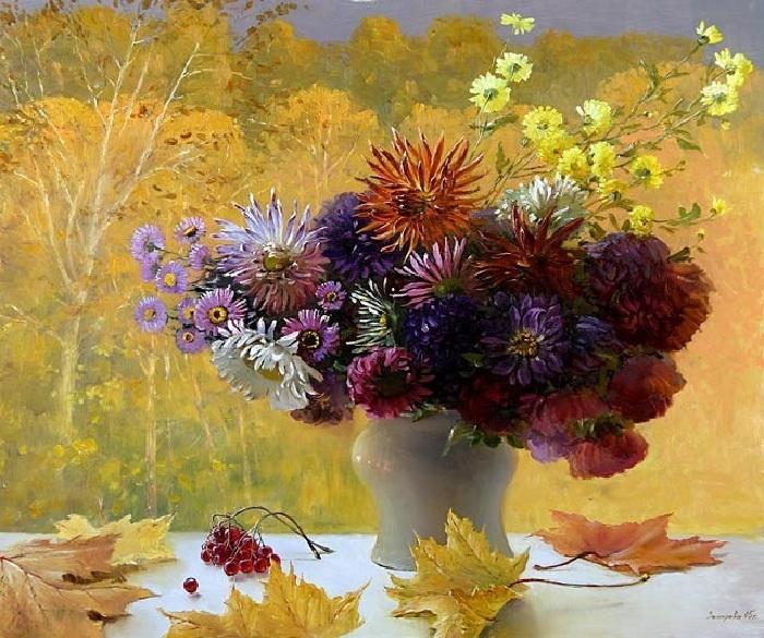 L'automne  Auteur: Marina Zakharova.