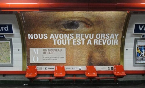 Orsay affiche oeil 8