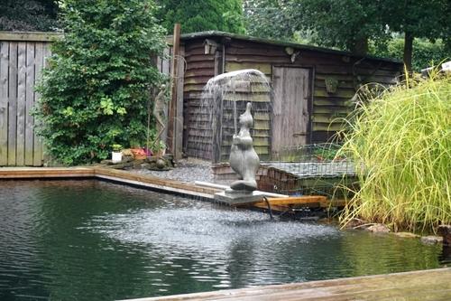 Jardin d'artiste à Sart -lez-Spa