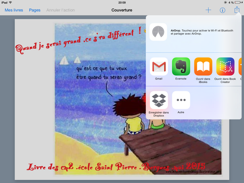 Ecrire un livre numérique , pour la fête des parents