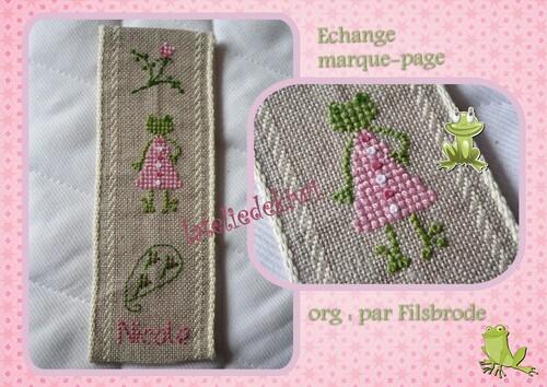Echange Marque-page