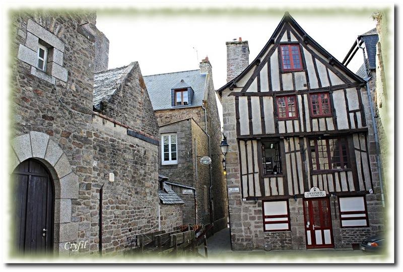 Jolies maisons à colombages