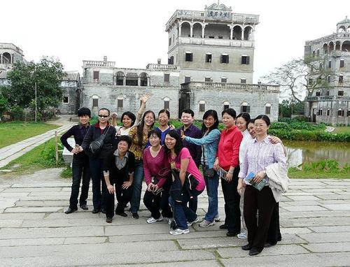 Kaiping; village zili reconstitué par les chinois