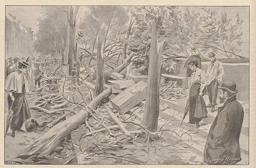 Une tornade historique sur Paris