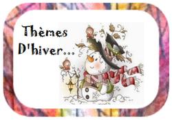 thèmes d'hiver