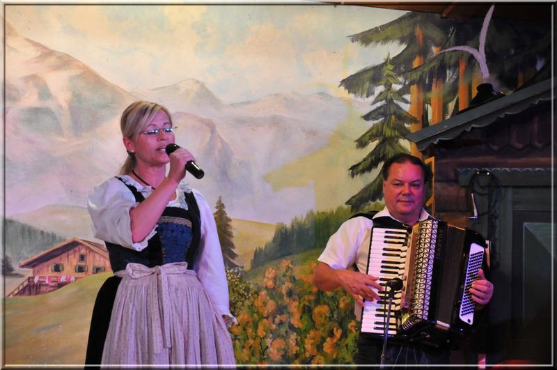 Autriche, soirée folklorique à Innsbruck