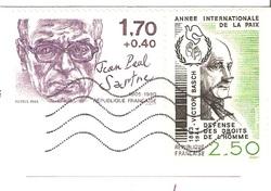 timbres en francs français