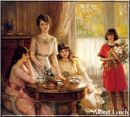 Tea time - Albert Lynch