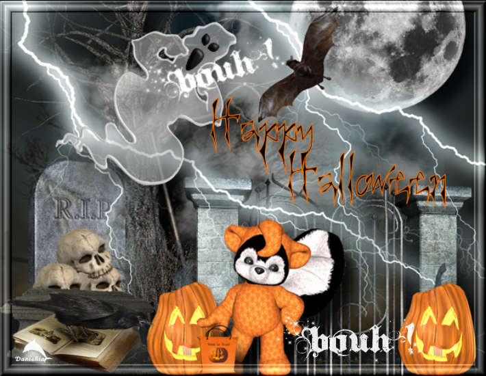 Mes créations d'halloween