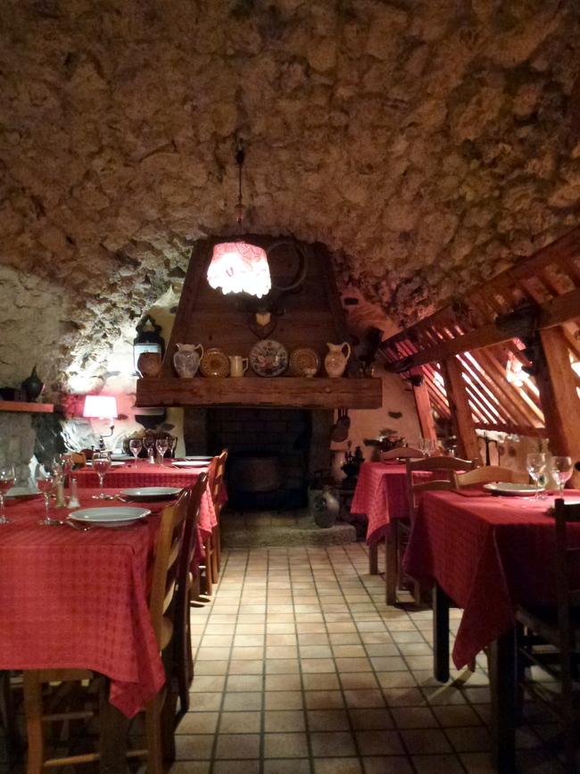 L'auberge du Martinet à Passy...