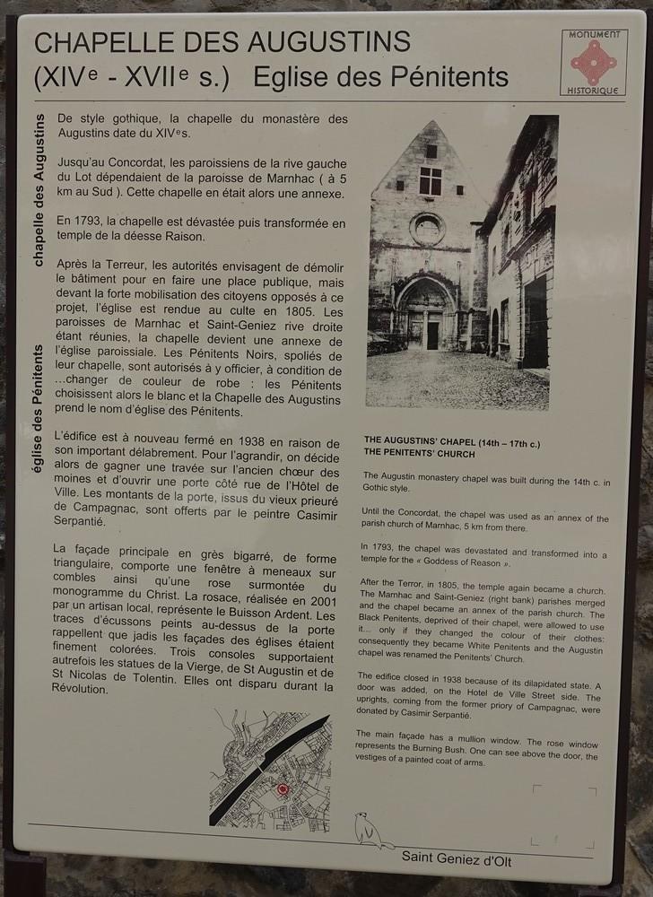 Saint-Geniez-d'Olt, dans l'Aveyron...